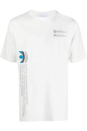 Xander Zhou Milky Way slogan T-shirt