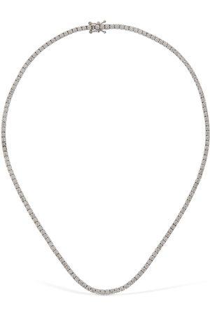 VANZI 18kt Gold & Diamond Tennis Necklace