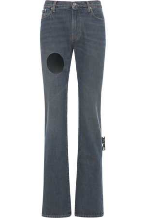OFF-WHITE Hand Off Skinny Stack Jeans
