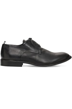 ERNESTO DOLANI 30mm Leather Lace-up Shoes