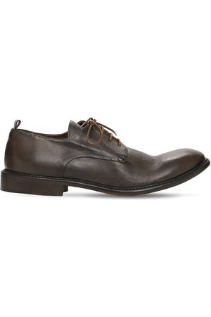 ERNESTO DOLANI Miehet Loaferit - 30mm Leather Lace-up Shoes