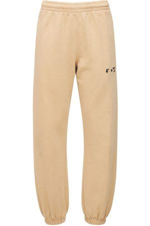 OFF-WHITE Naiset Collegehousut - Mini Logo Cotton Jersey Sweatpants