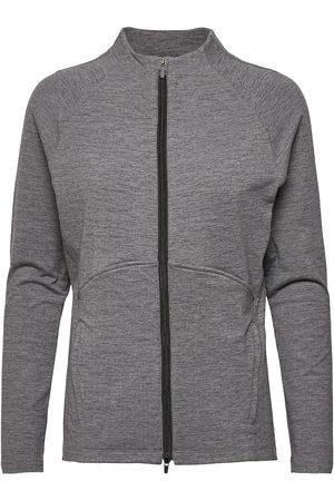 PUMA Naiset Takit - W Cloudspun Full Zip Outerwear Sport Jackets Harmaa