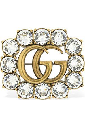 Gucci Naiset Kellot - Gg Marmont Crystal Brooch