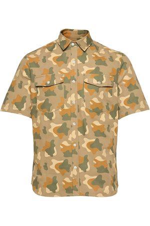 Foret Miehet Lyhythihaiset - Land Camo Shirt Lyhythihainen Paita