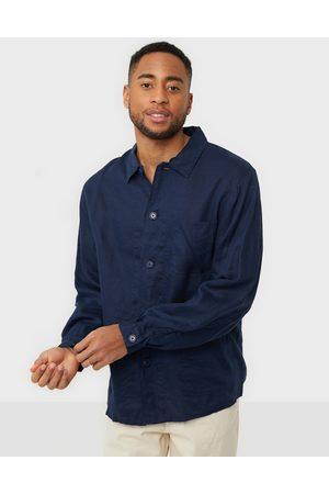 Polo Ralph Lauren Miehet Pikee - Polo LS Sport Shirt Kauluspaidat Navy