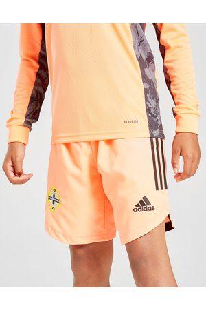 adidas Northern Ireland 2020 -maalivahdin vieraspelishortsit Juniorit - Kids