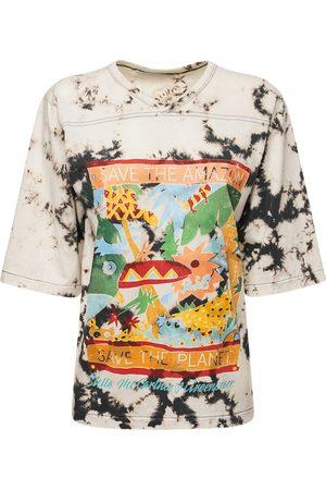 Stella McCartney Naiset T-paidat - Tie Dye Organic Cotton Jersey T-shirt