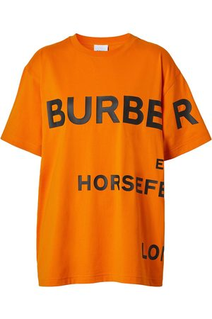 Burberry Naiset T-paidat - Horseferry-print T-shirt