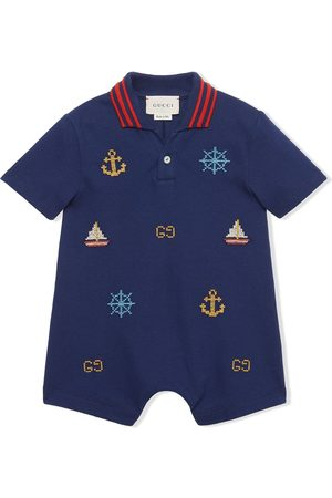 Gucci T-paidat - Nautical motif shorties