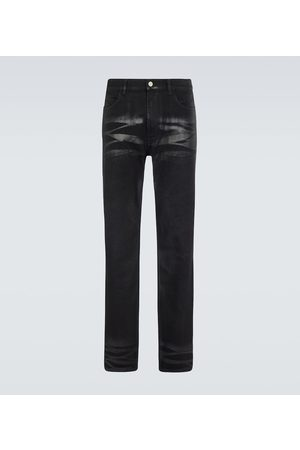 Givenchy Coated slim-fit jeans