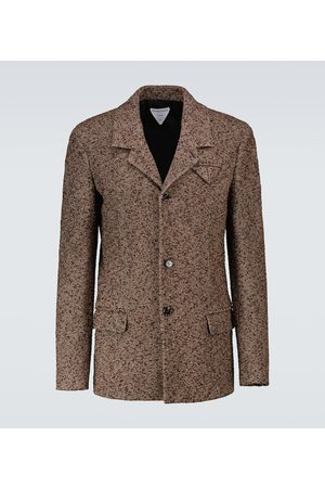 Bottega Veneta Miehet Bleiserit - Bouclé single-breasted blazer