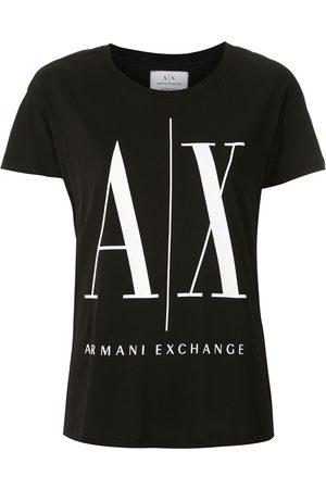 Armani Naiset T-paidat - Logo print T-shirt