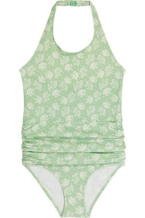 Caramel Gruppy stretch-jersey swimsuit