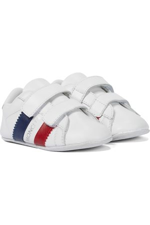 Moncler Baby leather booties