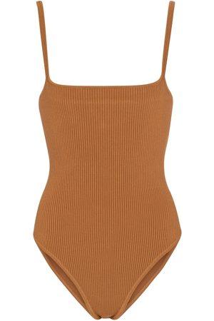 SIR Maxine ribbed-knit bodysuit