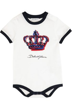 Dolce & Gabbana Haalarit - Baby cotton playsuit