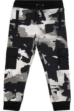 Dolce & Gabbana Pojat Collegehousut - Camo cotton jersey sweatpants