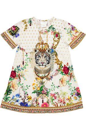 Camilla Tytöt Rennot Mekot - Printed cotton jersey dress