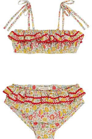 Caramel Tytöt Bikinit - Mahi floral cotton bikini