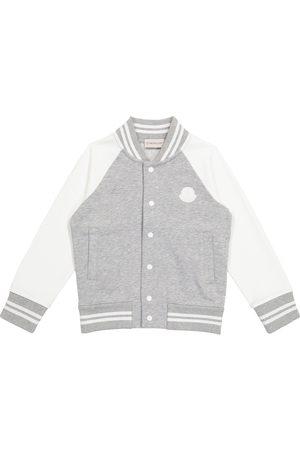 Moncler Pojat Päällystakit - Cotton varsity jacket