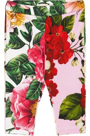 Dolce & Gabbana Vauvat Leggingsit - Baby floral stretch-cotton leggings