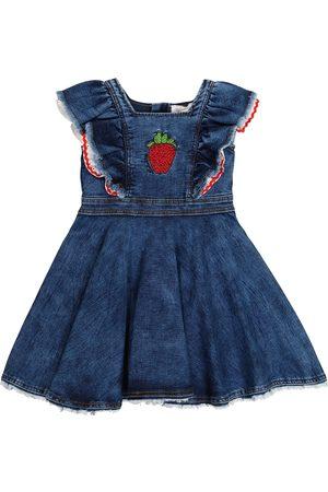 MONNALISA Embellished denim dress
