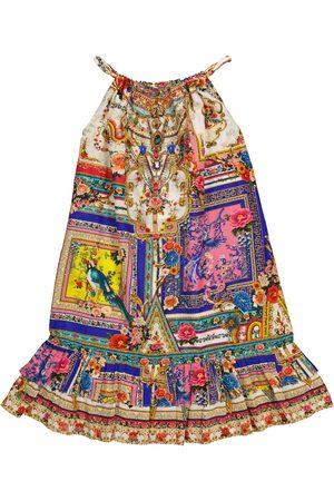 Camilla Tytöt Printtimekot - Printed cotton and silk dress