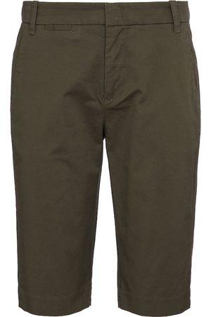 Vince Mid-rise cotton Bermuda shorts