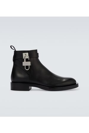 Givenchy Padlock ankle boots