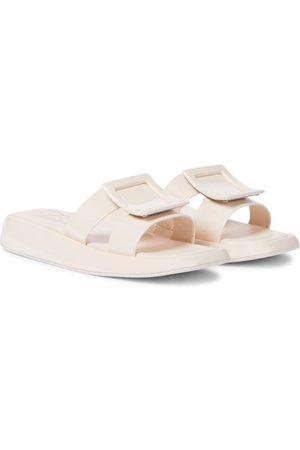 Roger Vivier Naiset Sandaalit - Vivier Slide patent leather sandals