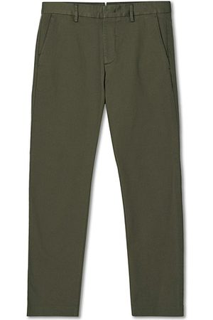 NN.07 Theo Regular Fit Stretch Chinos Army Green