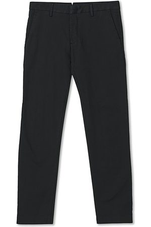 NN.07 Miehet Chinot - Theo Regular Fit Stretch Chinos Black