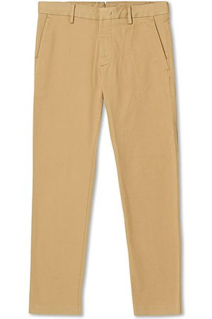 NN.07 Miehet Chinot - Theo Regular Fit Stretch Chinos Khaki