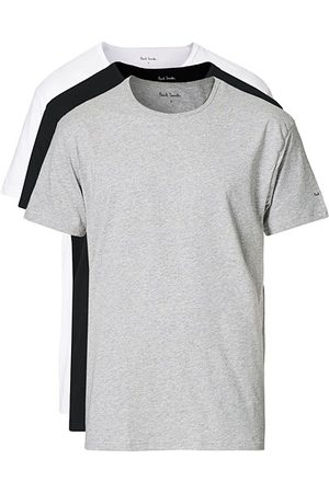 Paul Smith Miehet T-paidat - 3-Pack T-shirts White/Grey/Black