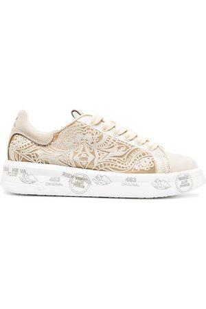 Premiata Belle lace-detail sneakers