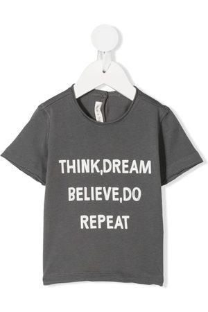 Zhoe & Tobiah T-paidat - Slogan-print cotton T-shirt