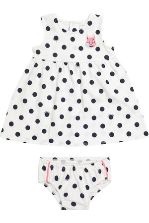 The Marc Jacobs Baby polka-dot cotton dress and bloomers set