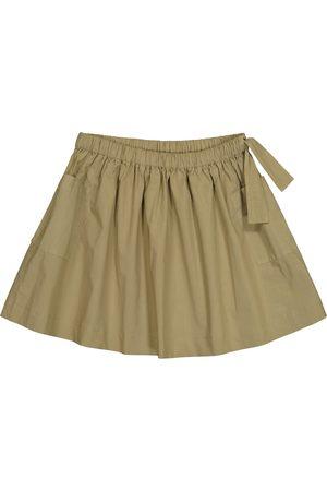 Caramel Cormoran cotton poplin skirt