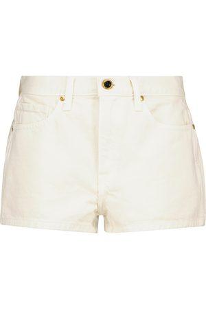 Khaite Charlotte denim shorts