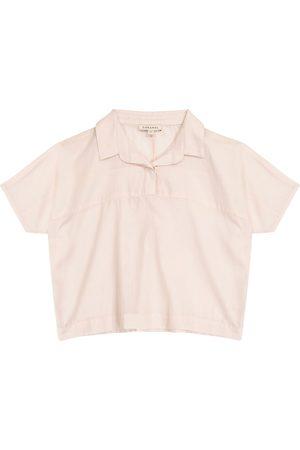 Caramel Tetra cotton blouse