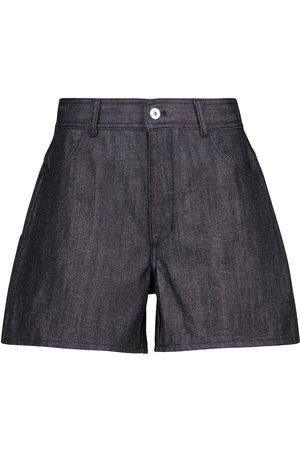 Jil Sander High-rise denim shorts