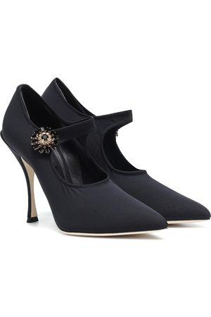 Dolce & Gabbana Embellished Mary Jane pumps