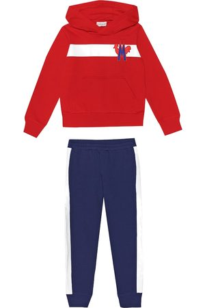 Moncler Cotton hoodie and trackpants set