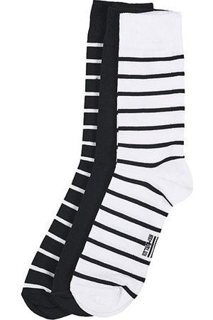 Armor.lux Miehet Sukat - 3-Pack Loer Socks Navy/White