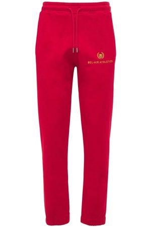 BEL-AIR ATHLETICS Miehet Collegehousut - Athletics Logo Embroidered Sweatpants