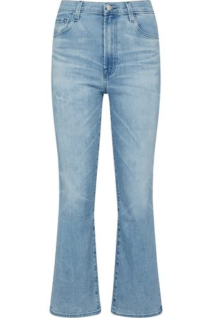 J Brand Naiset Leveälahkeiset - Franky high-rise bootcut jeans