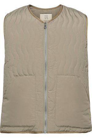 R-Collection Miehet Liivit - Antton Quilt Vest Liivi Beige
