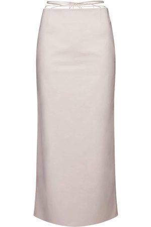 MAGDA BUTRYM Naiset Midihameet - Stretch Cotton Midi Skirt