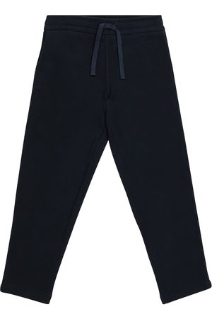 Loro Piana Horsey cotton fleece sweatpants